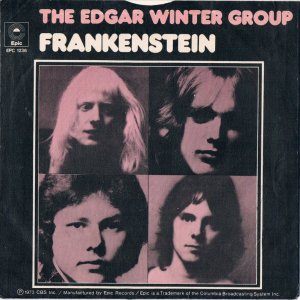 Edgar Winter Group - Frankenstein - promo 45rpm cover sleeve - 1973 - #01TEWGMO1