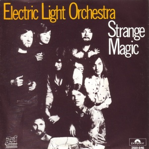 Electric Light Orchestra - Strange Magic - 45rpm - promo cover sleeve - 1976 - #0522ELOMO
