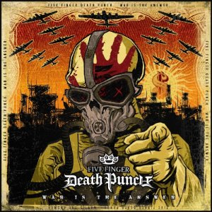 Five Finger Death Punch - War Is The Answer - promo album cover pic - 2009 - #05FFDPMO03