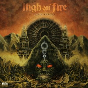 High On Fire - Luminiferous - promo album cover pic - 2015 - #33066MO