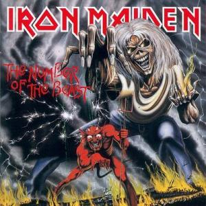 Iron Maiden - The Number Of The Beast - promo LP cover pic - 1982 - #33IMMOBD05