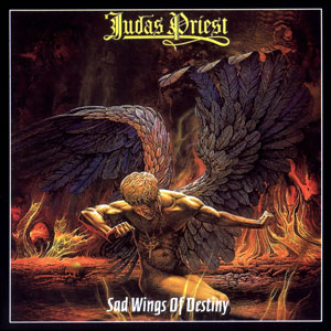 Judas Priest - Sad Wings Of Destiny - promo album cover pic - #9379MOJP