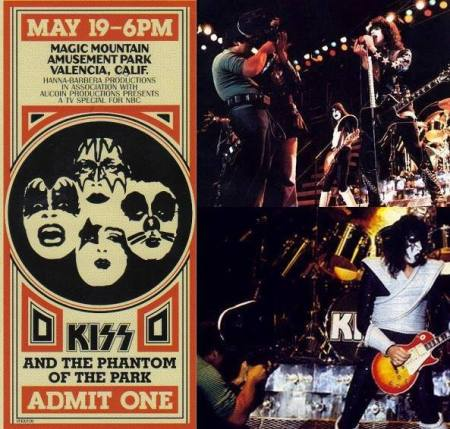 KISS - Meets The Phantom Of The Park - promo flyer - 1978 - #051978KMO
