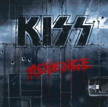 Kiss - Revenge - promo album cover pic - 1992 - #051992KESMO