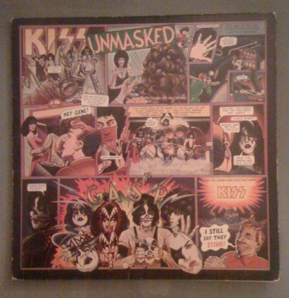 Kiss - Unmasked - Stones used vinyl pic - #05339MOK