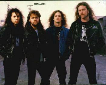 Metallica - promo band pic - 1991 - 1994 - #MMO05