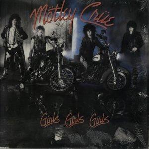 Motley Crue - Girls Girls Girls - promo cover pic - 1987 - #2MCMO05