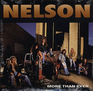 Nelson - More Than Ever - promo CD single pic - 1990 - #05NMORNB