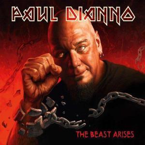Paul Dianno - The Beast Arises - promo album cover pic - 2014 - #33PDMOIML