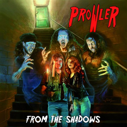 Prowler - From The Shadows - promo album cover pic - 2015 - #05PMO