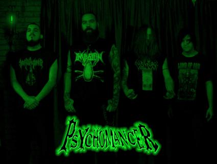 Psychomancer - promo band pic - 2015 - #0524MOPDM