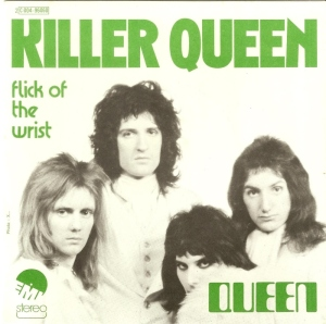 Queen - Killer Queen - 45rpm cover sleeve - 1975 - #0517KQMOQ