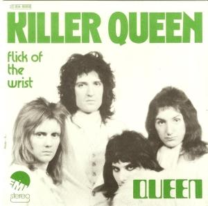 Queen - Killer Queen - 45rpm cover sleeve - 1975 - #0517KQMOQ