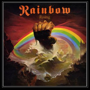 Rainbow - Rising - promo album cover pic - 1976 - #051776 - MORRJD