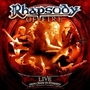 Rhapsody Of Fire - Live From Chaos To Eternity - promo album cover pic - 2013 - #0503MO