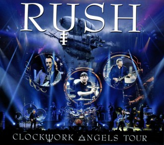Rush - Clockwork Angels Tour - promo album cover pic - #0090903RMO