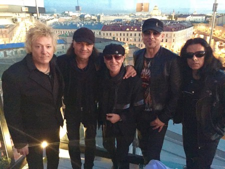 Scorpions - St. Petersburg Russia - May 25 - 2015 - Scorpions Facebook credit - #01MSCMOS