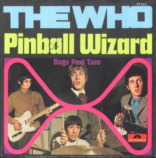 The Who - Pinball Wizard - 45rpm - promo pic - 1969 - #0524TWMO