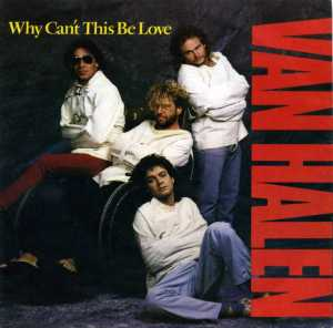 Van Halen - Why Cant This Be Love - promo single cover art - 1986 - #99