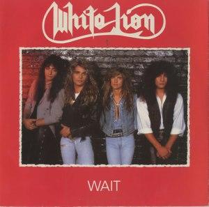White Lion - Wait - promo 45rpm cover sleeve - 1988 - #33MOWL