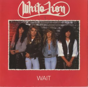 White Lion - Wait - promo 45rpm cover sleeve - 1988 - #33MOWL