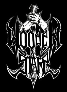 Wooden Stake - classic band logo - 2010 - #77MOWS