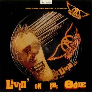 Aerosmith - Livin' On The Edge - promo picture disc photo - 1993 - #06ASTMOS