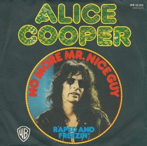 Alice Cooper - No More Mr. Nice Guy - promo 45rpm cover sleeve - #730602MOACB