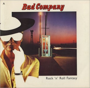 Bad Company - Rock n Roll Fantasy - 45rpm cover sleeve promo - 1979 - #0616BCNLSSM