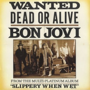 Bon Jovi - Wanted Dead Or Alive - promo CD single - cover photo - 1987 - #330606MO