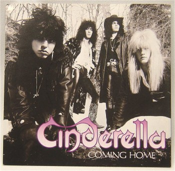 Cinderella - Coming Home - 45rpm cover sleeve - 1989 - #062489NBASAIL