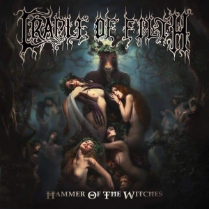 Cradle Of Filth - Hammer Of The Witches - promo album cover pic - 2015 - #0607COFDFMO