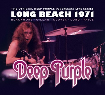 Deep Purple - Long Beach 1971 -  promo album cover pic - 2015 - Ian Paice - #0629MOSANFAE