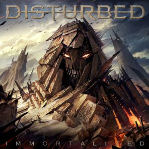 Disturbed - Immortalized - promo album cover pic - 2015 - #0630MOSANLEOI
