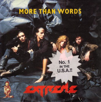 Extreme - More Than Words - promo 45rpm - cover sleeve - #1999EGCNBMOY