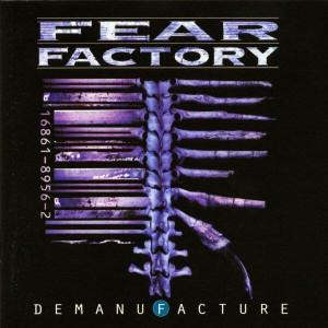 Fear Factory - Demanufacture - promo album cover pic - 1995 - #061395FFDCMOS