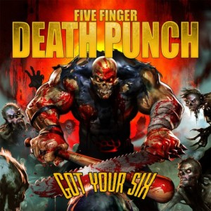 Five Finger Death Punch - Got Your Six - promo album cover pic - 2015 - #0619FFDPMOSPF