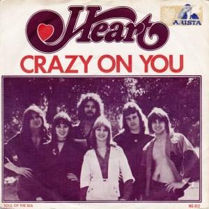 Heart - Crazy On You - promo 45rpm cover sleeve photo - 1976 - #0605NAWMOS