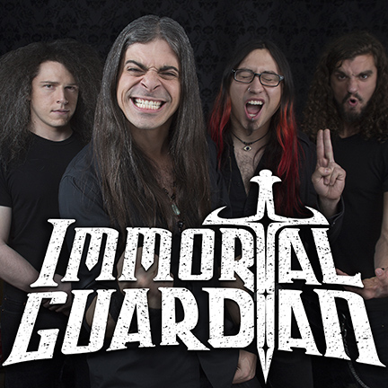 Immortal Guardian - promo band pic - band logo - 2015 - #0601IGMO