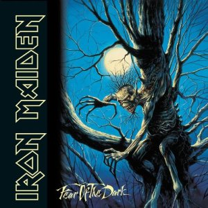 Iron Maiden - Fear Of The Dark - promo album cover pic - #1992IMBDMOS