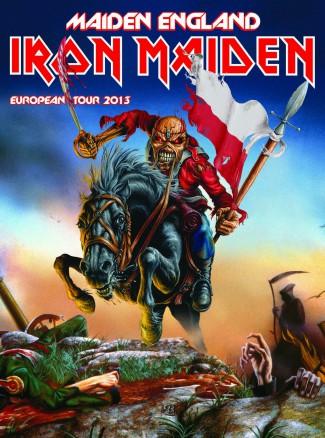 Iron Maiden - Maiden England - European Tour 2013 - promo flyer - #061213IMSHMOSHY