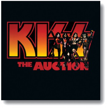 KISS - The Auction - promo cover of auction book - June 24 - 25 - 2000 - #KMOSANLEO001