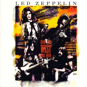 Led Zeppelin - How The West Was Won - promo album cover pic - 2003 - #0106JPMOY
