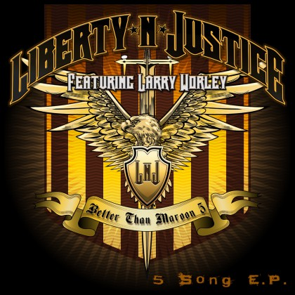 Liberty N Justice - Better Than Maroon 5 - promo cover pic - EP - 2015 - #0915LNJMO