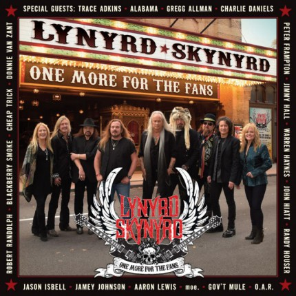 Lynyrd Skynyrd - One More For The Fans - promo cover pic - 2015 - #99033