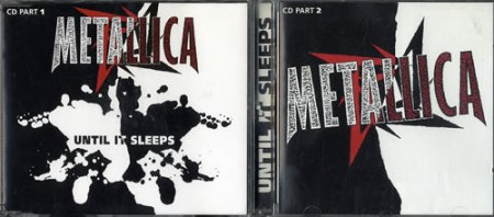 Metallica - Until It Sleeps - promo CD cover pic - #0699MOM