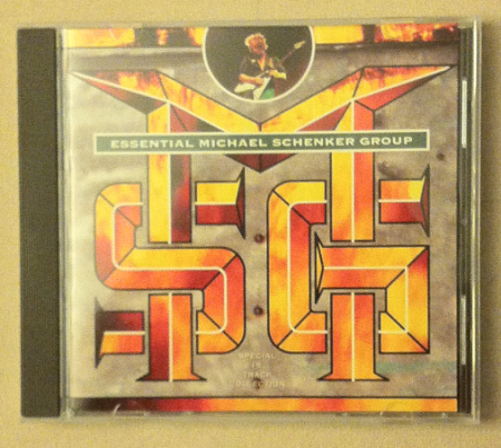Michael Schenker Group - The Essential - promo front cover CD - #05MOMS
