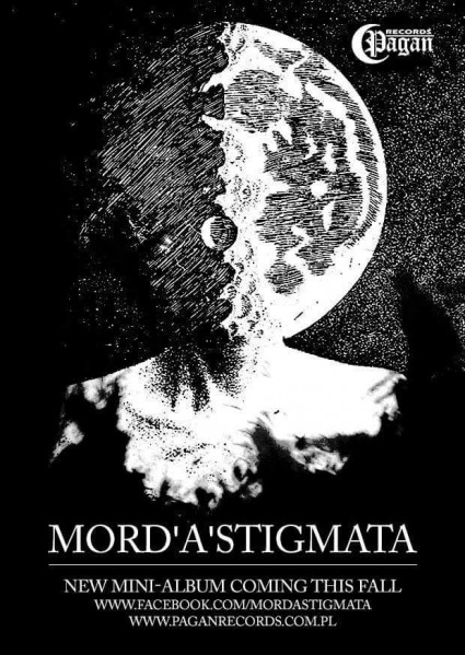 Mord A Stigmata - promo flyer - new album - fall 2015 - #0617MOSLN