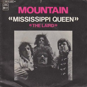 Mountain - Mississippi Queen - promo 45rpm cover sleeve - 1970 - #0613LWMOS