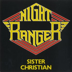 Night Ranger - Sister Christian - promo 45rpm cover sleeve - 1984 - #10NRMOSR